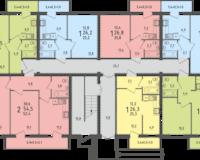 Литер 2, этаж 1