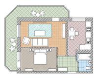 2 комнатная квартира 48,6 кв. м