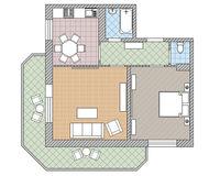 2 комнатная квартира 56,9 кв. м
