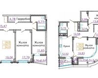 3-комнатные квартиры