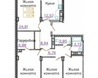 4-комнатные квартиры