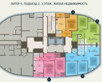 Подъезд 2, этаж 3