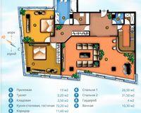 Площадь 173.8 кв. м