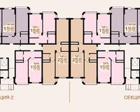 Литер 2, этажи 2-5