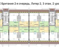 Литер 2, этаж 3, уровень 2