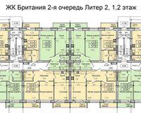 Литер 2, этажи 1 и 2