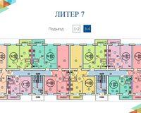 Литер 7, этажи 3, 4
