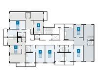 Плдъезд 3, этажи 3-20