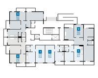 Плдъезд 3, этаж 1
