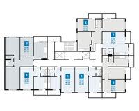 Плдъезд 1, этажи 1 и 2