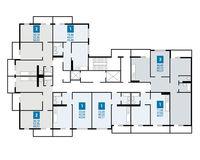 Плдъезд 3, этаж 2