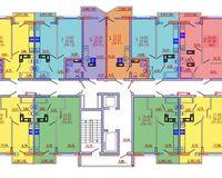 Подъезд 1, этажи 1-4