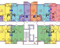Подъезд 1, этажи 5-16