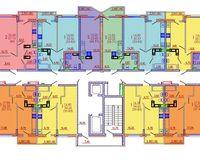 Подъезд 3, этажи 1-4