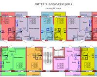 Секция 2, этаж типовой