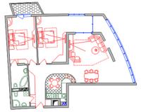 3-комнатная квартира 128 кв. м