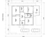 1 этажный дом