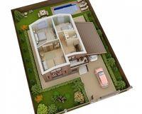 Дом 123 кв. м, этаж 2