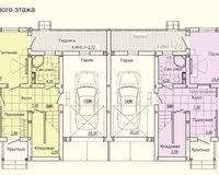 Дуплекс типа А, этаж 1
