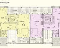 Дуплекс типа А, этаж 2