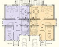 Дуплекс типа В, этаж 1