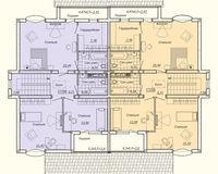 Дуплекс типа В, этаж 2