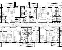 Подъезд 1, этажи 10-24