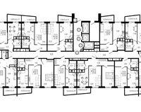 Подъезд 2, этажи 10-24