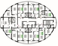 Литер 15, этажи 10-24