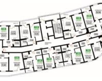Литер 10, подъезд 2, этажи 16-24