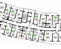 Литер 10, подъезд 1, этажи 16-24