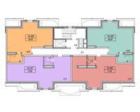 Литер 4, этаж 10 (мансарда)
