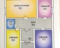2 этажный жилой дом №2