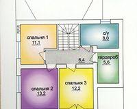 2 этажный жилой дом №3