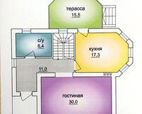 2 этажный жилой дом №1