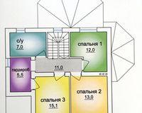 2 этажный жилой дом №4