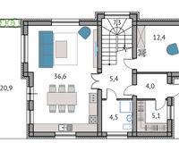 Тип 2, этаж 1