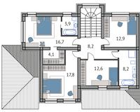 Тип 3, этаж 2