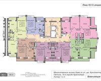 Подъезд 1, этажи 10-13