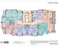 Подъезд 2, этажи 4-9