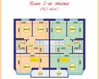 Площадь дома 108 кв.м, этаж 2