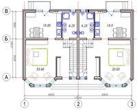 Площадь дома 110.3 кв.м, этаж 1