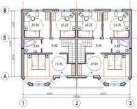 Площадь дома 110.3 кв.м, этаж 2