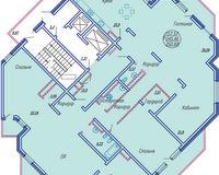 6 комнатная квартира 252,68 кв. м
