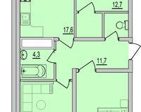 3 комнатная квартира 83,34 кв. м