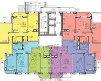 Литер 3, подъезд 1, этаж 2
