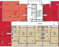 Подъезд 1, этажи 20-24
