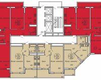 Подъезд 2, этажи 20-24