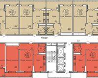 Подъезд 5, этажи 20-24