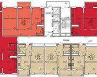 Подъезд 1, этажи 2-19